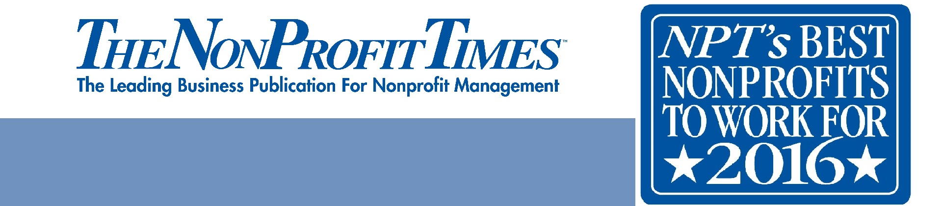 CTR Awarded NonProfit Times Best Nonprofits To Work For